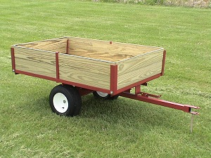 Single Axle ATV Trailers and ATV Carts for off road use by Country