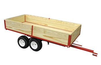 1 ton twin axle tandem trailer