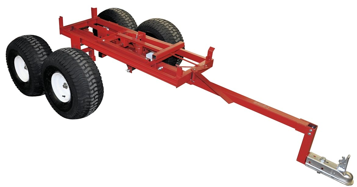 Utility Trailer Axle Kits on bottom dump trailers