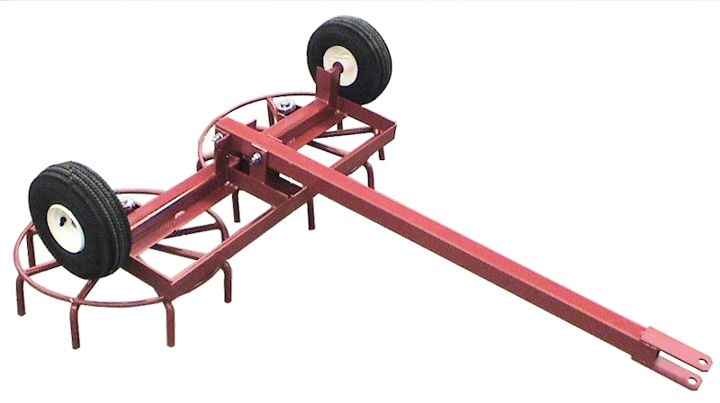 4 foot wide rotary harrow