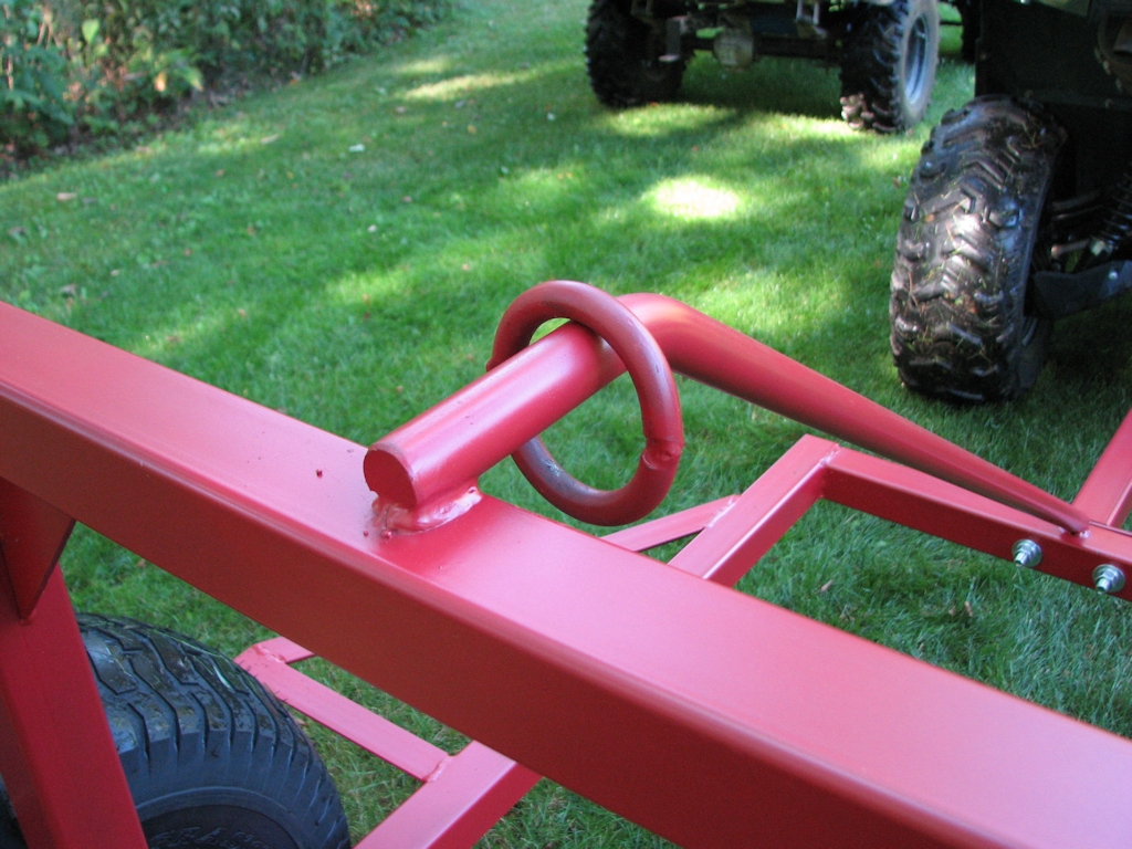 Atv Log Skidder Atv Log Arch Hauler Ball Hitch Adapters By Country