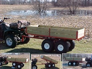 ATV Trailers Twin Axle