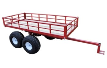 Twin axle ATV tandem trailer