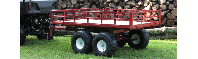 Utv Trailer Heavy Duty Tandem Axle Model 7740utv By Country Atv